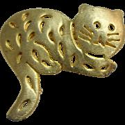 Pierced Kitten / Cat Pin Ultra Craft