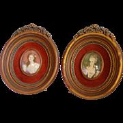 2 Cameo Creations Frames Portraits Volage & Lambert de Morigney