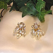 Gorgeous Juliana D&E, Swarovski Crystal Rhinestone Earrings