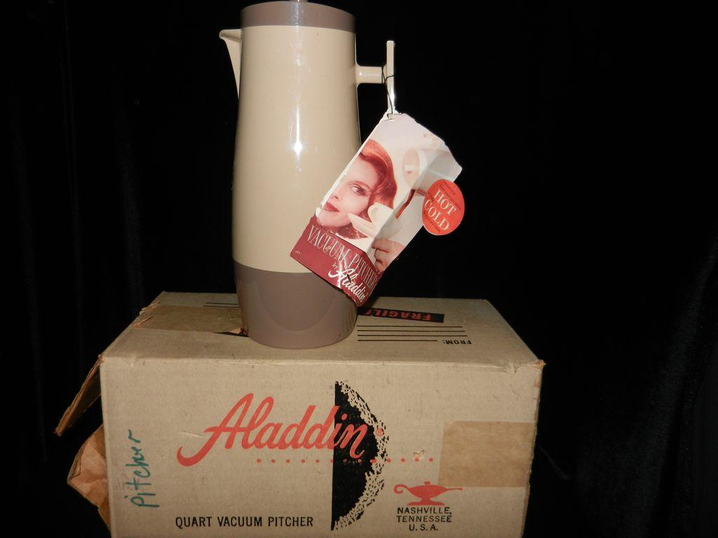 Vintage Aladdin Vacuum Pitcher- #P4450
