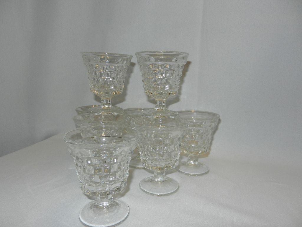 Vintage Fostoria American Cocktail or Oyster Goblet