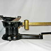 Vintage Cast Iron and Brass 1932 Postal Scale