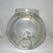 Vintage Sellers Canister Jar