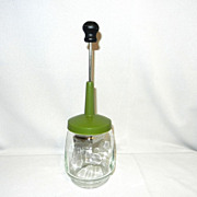Vintage Gemco Glass Hand Food Chopper