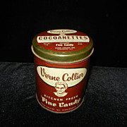 Vintage Verne Collier Candy Tin