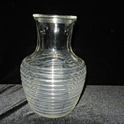 Vintage Anchor Hocking Manhattan Carafe