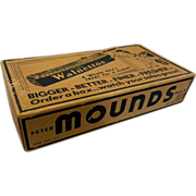 Vintage Mounds Candy Bar Display Box