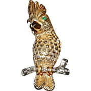 Vintage Castlecliff Owl Broach