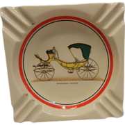 Vintage Advertising Ashtray