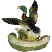 Vintage Mallard Duck Television Lamp by Lane & Co.