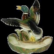 Vintage Mallard Duck Television Lamp by Lane & Co.