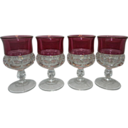 Vintage Tiffin King's Crown Glassware by United States Glass Company