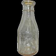 Vintage Universal 5 Cent Store Quart Milk Bottle