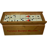 Vintage Sherwin Williams Spinner Dominos Set