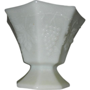 Vintage Anchor Hocking Milk Glass Open Bowl/Compote
