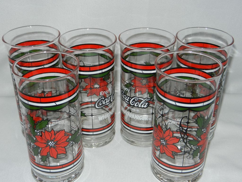 vintage coca cola glass