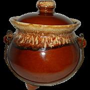 Vintage Hull Drip Ware Bean Pot