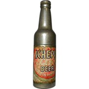 Vintage Kem Company Advertising Pocket Lighter for Schepps Beer of Dallas, Texas