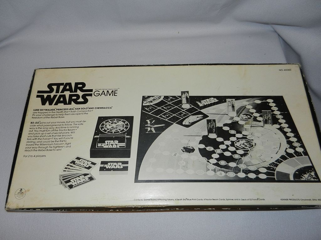 Vintage Star Wars Escape from the Death Star Board Game ...