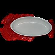 Vintage Hall China Lobster Dishware