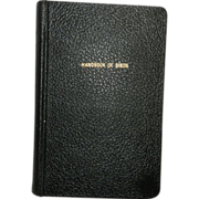 Vintage Book Entitled Handbook of Birds of Eastern North America
