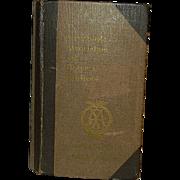 Vintage Automobile Association and Motor Union Handbook 1914-15