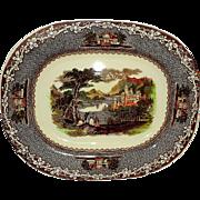 Vintage Royal Staffordshire Oval Serving Platter