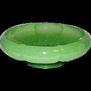 Vintage Fenton Jadeite Art Glass Candy Bowl