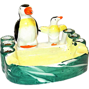Vintage Made in Japan Penguin Ashtray