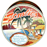 Vintage Zombies Company Cookie Tin