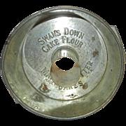 Vintage Swans Down Flour Advertising Cake Pan