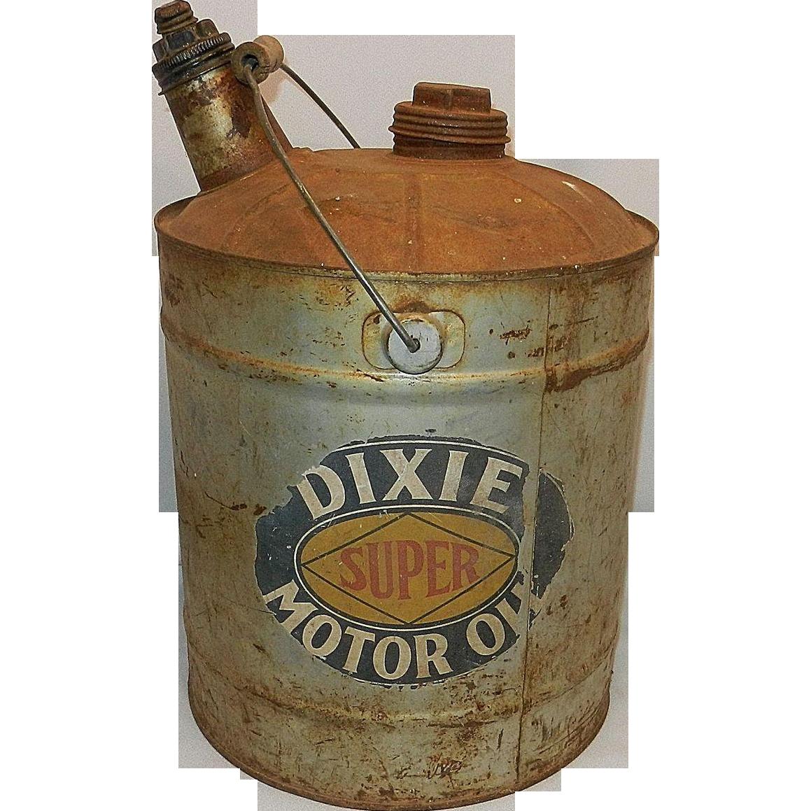 Vintage Motor Oil 5