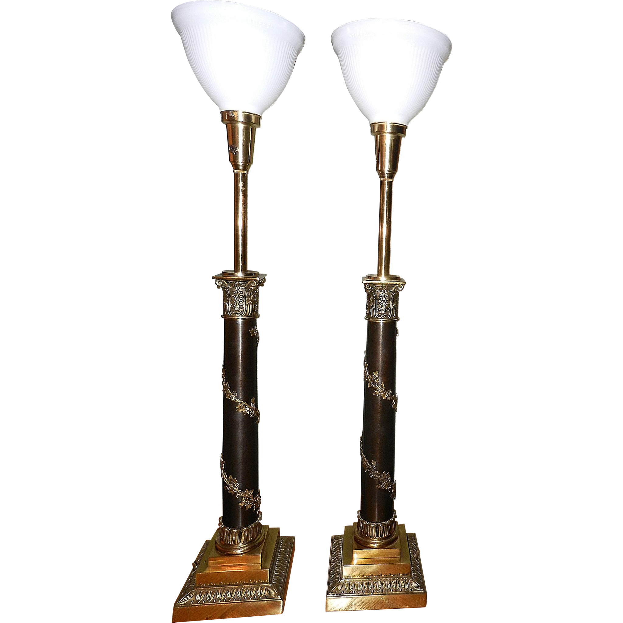 Teen Table Lamps: Vintage Brass Table Lamps