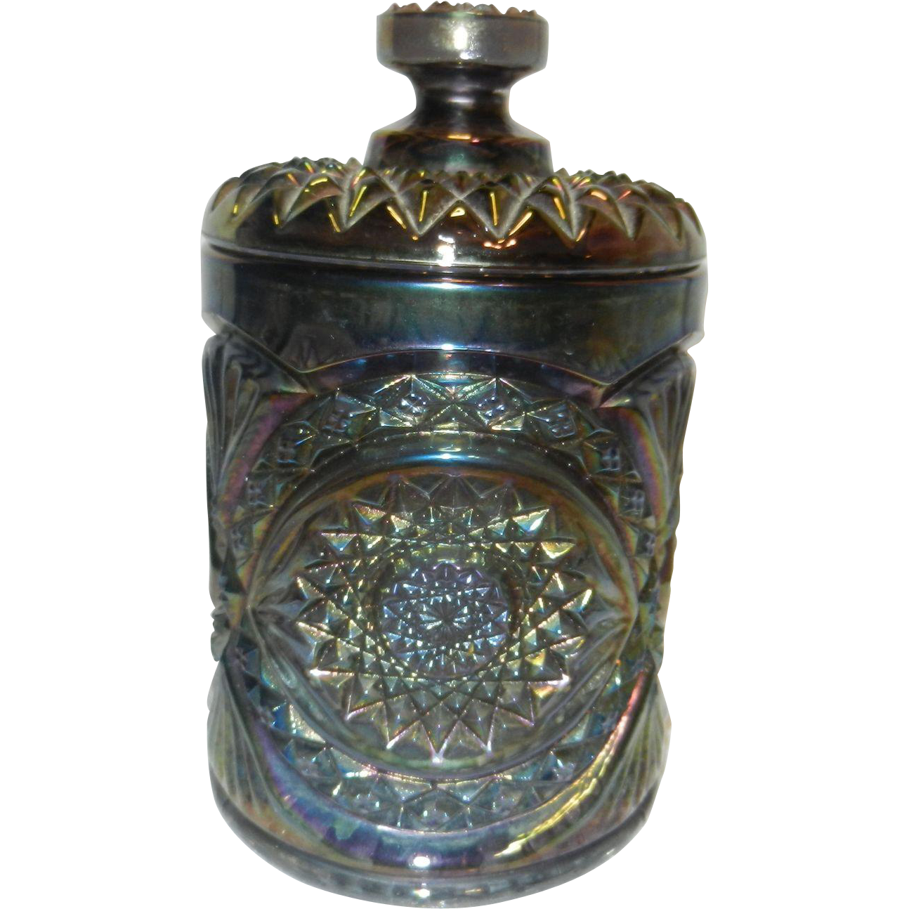 Vintage Glass Canister 113