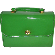 Vintage Green Children's Purse-