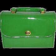 Vintage Green Children's Purse-