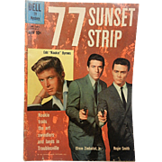Vintage Silver Age 77 Sunset Strip Comic Book