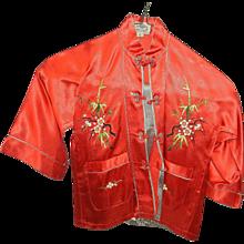 Vintage Girls Dynasty Label Asian Clothing