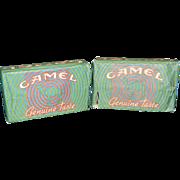 Vintage R.J. Reynolds Camel Cigarette Matchbooks