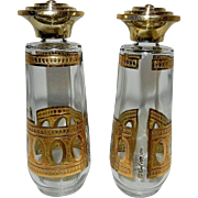 Vintage Culver Antigua  Salt & Pepper Set