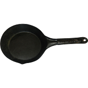 Vintage Snow King Baking Powder Skillet