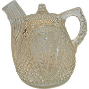 Antique U S Glass Company EAPG Rum Jug