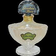 Vintage Guerlain Shalimar Perfume Bottle