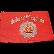 Vintage DDR East German Police Arm Bands