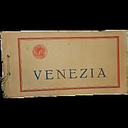 Vintage Pictorial Souvenir of Venice, Italy