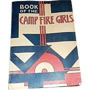 Vintage 1960 Camp Fire Girls Manual