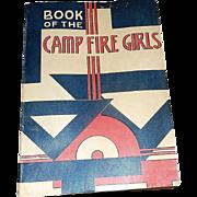 Vintage 1960 Camp Fire Girls Manual