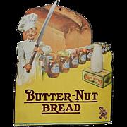Vintage Butternut Bread Retail Counter Display