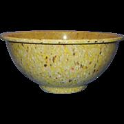 Vintage Confetti Splatter Melmac/Melamine Texas Ware Mixing Bowl #118