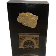 Vintage Salvage Presentation Display of the Terra Cotta from Historic Chicago Stock Exchange